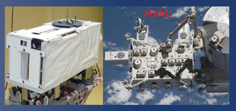 左図: MAXI の外観図、右図: MAXI ga